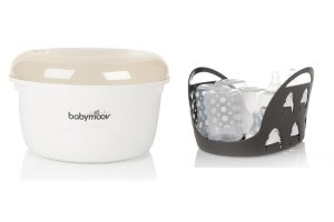 Babymoov Sterilisateur Bebe Micro Onde Creme